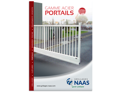 Catalogue Portails gamme Acier