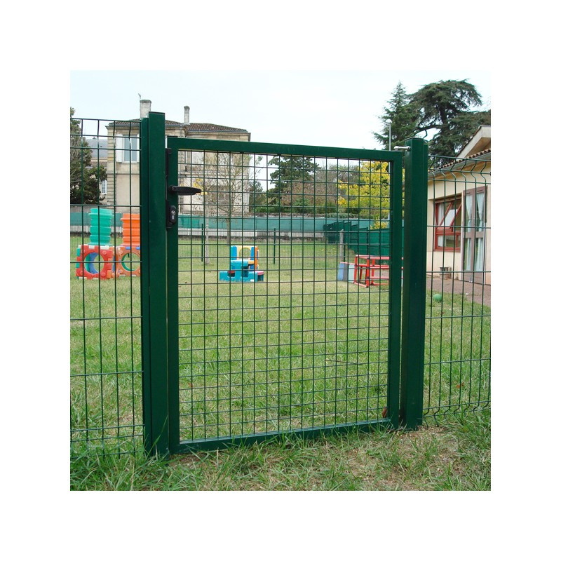 Portillon de jardin grillag pr t poser for Portillon de jardin largeur 1m20