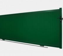 Portail coulissant aluminium modèle BAOBAB