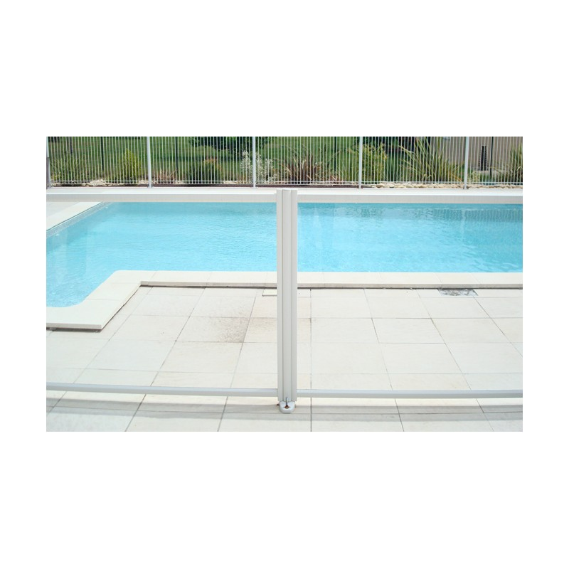 Barri res de piscine diamant panneau transparent portillon for Panneau piscine