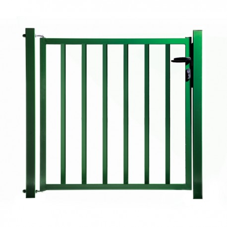 Portillon de jardin remplissage barreaux vert for Salon de jardin vert anis