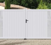 Portail aluminium modèle SHADOW