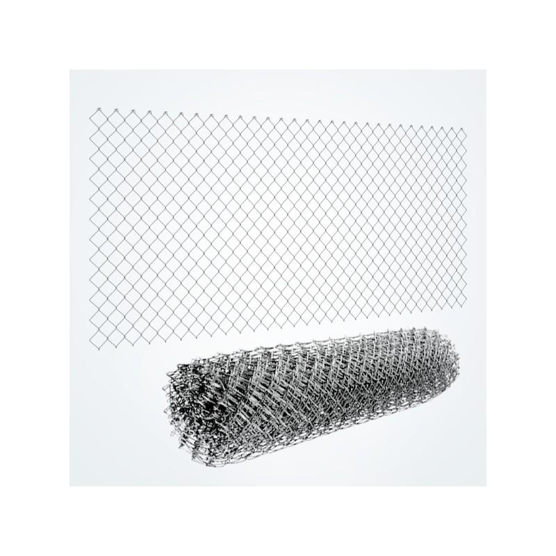 kit de 25m de cl ture grillag e rouleau simple torsion galva. Black Bedroom Furniture Sets. Home Design Ideas